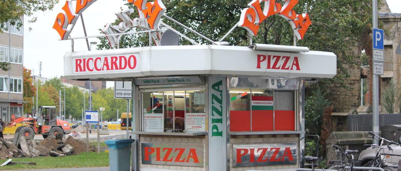 Riccardos Pizzeria, Goseriede, Hannover, 2012