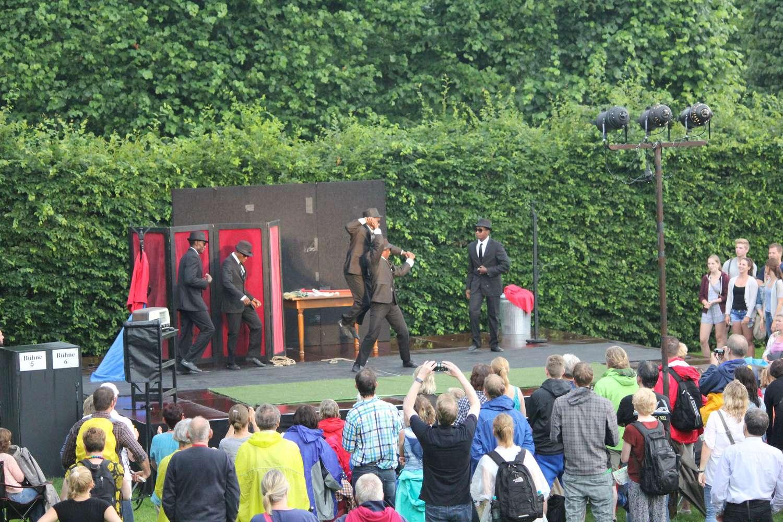 Black Blues Brothers, Kleines Fest im Großen Garten, Hannover, 2015