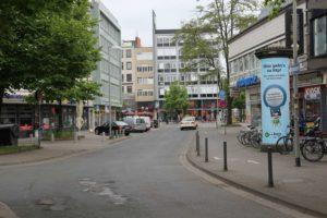 Schmiedestraße zwischen Marstall und Georgstraße, Hannover, 2016