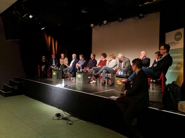 Plätze, Parks und Co. - bbs-Veranstaltung im Pavillon, Hannover 2017