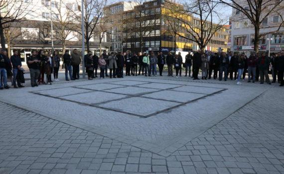 Eröffnung des Brunnen am Marstall, Hannover, 2019