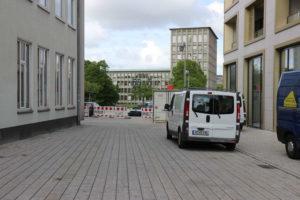Verbindung Am Marstall - Am Hohen Ufer von Burgstraße aus gesehen, Hannover, 2019