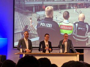 Belit Onay, Marc Hansmann und Eckhard Scholz beim Diskussionsforum der Hannoverschen Allgemeinen Zeitung