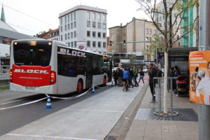 Bus und Radverkehr kommen sich nicht mehr in die Quere.