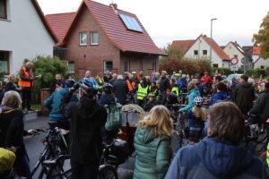 Kundgebung zum Demonstrationbeginn: Mitorganisator Hans Wargel spricht