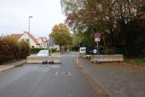 Sperre Am Grünen Hagen/Barthold-Knaust-Straße