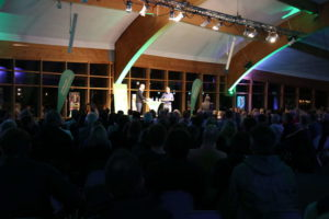 Großer Andrang beim Townhall-Meeting im Expowal