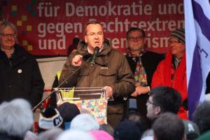 Niedersächsischer Innenminister Boris Pistorius