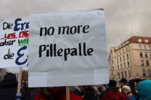 Plakat: No more Pillepalle