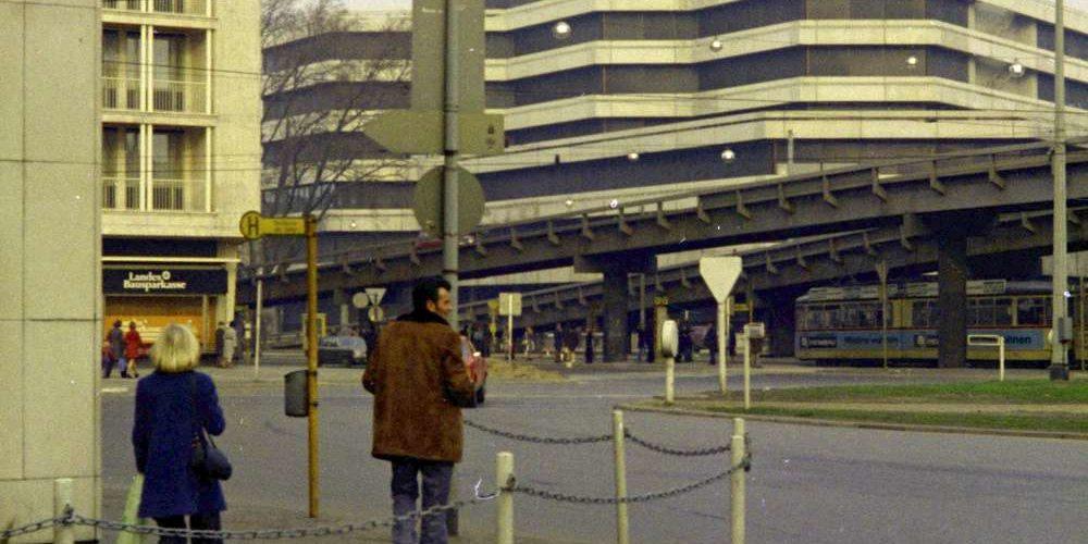 Aegidientorplatz von der Breiten Straße aus gesehen, 1974