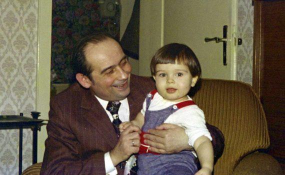 Der Blogautor und sein Opa, 1974