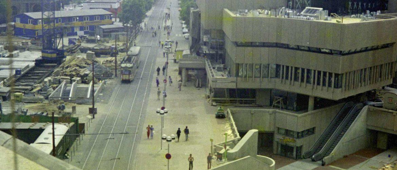 Kröpcke vom Obergeschoss von Magis aus gesehen, 1975