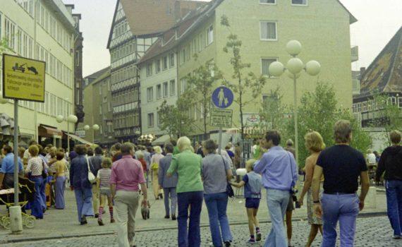 Knochenhauerstraße bei Ballhofstraße, 1975