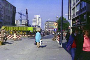 Georgstraße Höhe Kanalstraße, 1980