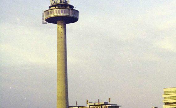 Fernsehturm und ZOB, 1980