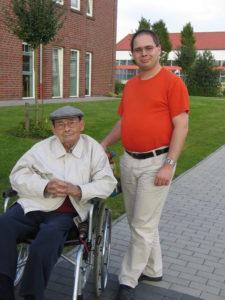 Der Blogautor und sein Opa, 2008