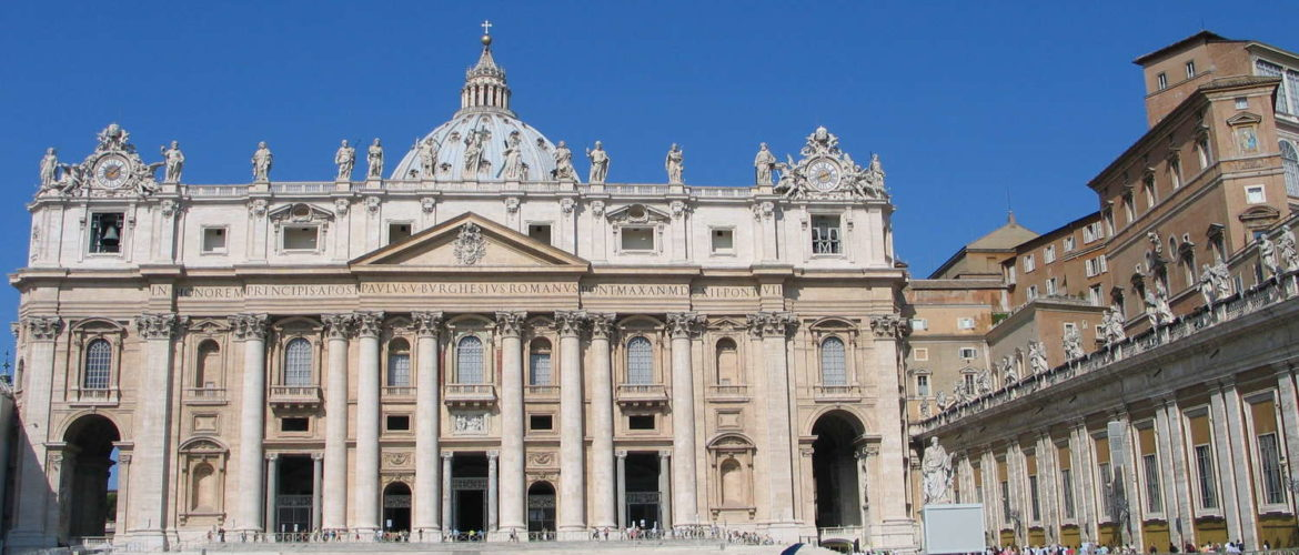 Basilica di San Pietro in Vaticano and Palazzi Vaticani, August 2009