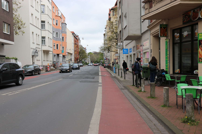 Wedekindstraße, Mai 2017
