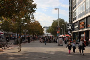 Georgstraße Höhe Kanalstraße, 2019