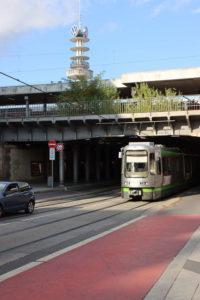 Heute Lister Meile: Die westliche Ausfahrt des Posttunnels im September 2019