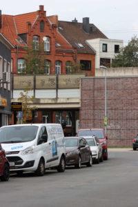 Breithauptstraße und Bahnbrücke, 2019