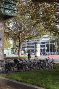 Aegidientorplatz von der Breiten Straße aus gesehen, 2019