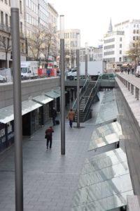 Bahnhofstraße und Niki-de-Saint-Phalle-Promenade, 2019