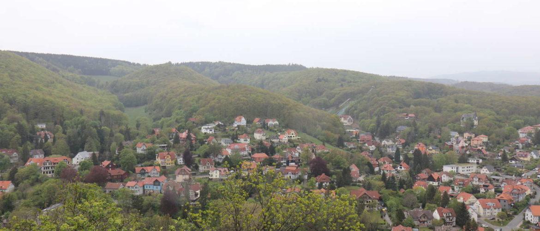 Wernigerode vom Schloss aus gesehen, 2019