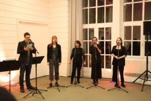 A-Cappella-Gruppe der Musikschule Hannover im Gobelinsaal