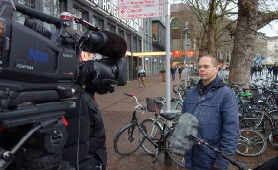 Der Blogautor im NDR-Interview zum Thema Falschparker
