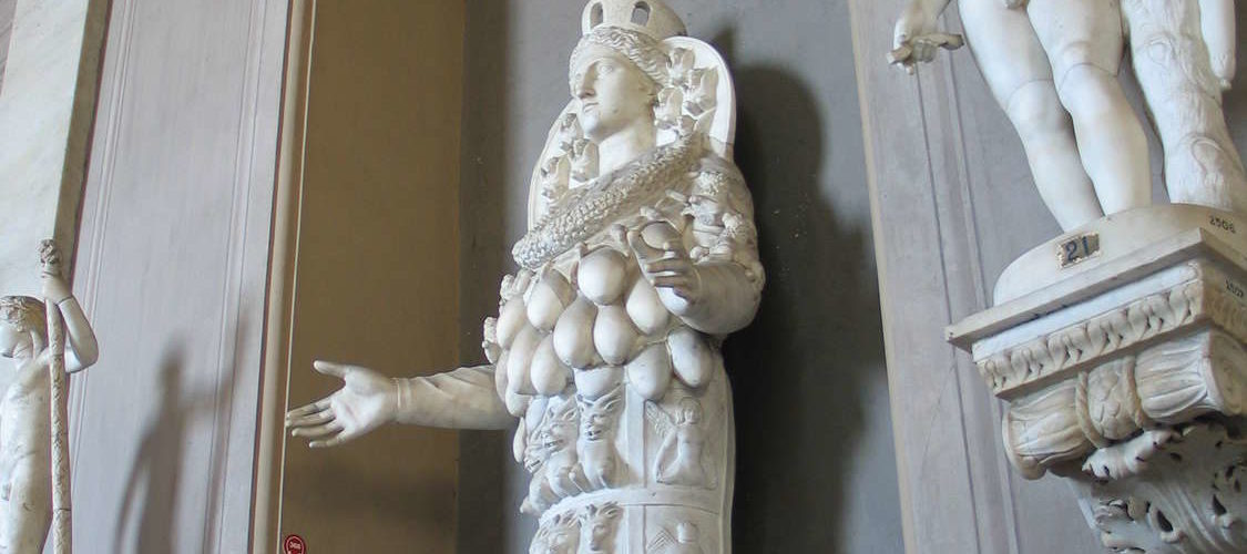 Skulpturen in den vatikanischen Museen, Rom/Vatikanstaat, August 2009