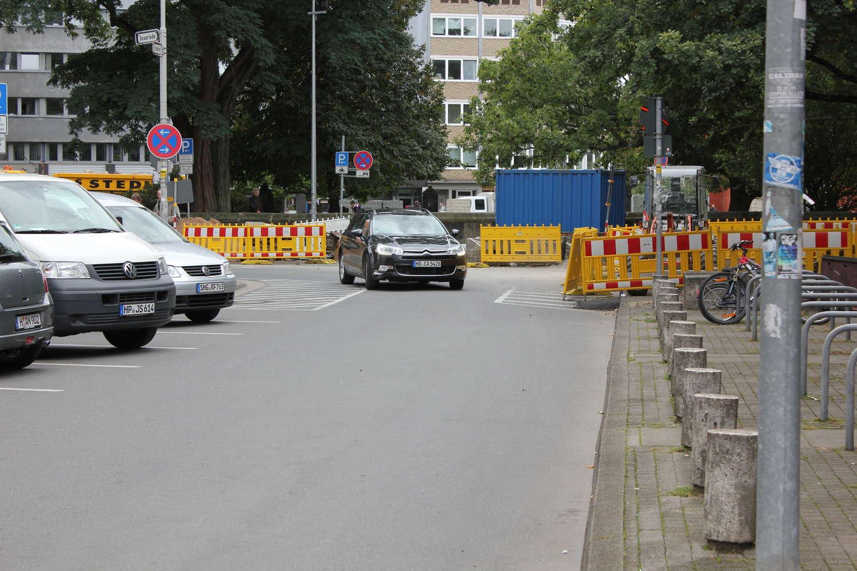 Brüderstraße Richtung Goseriede, Hannover, September 2012