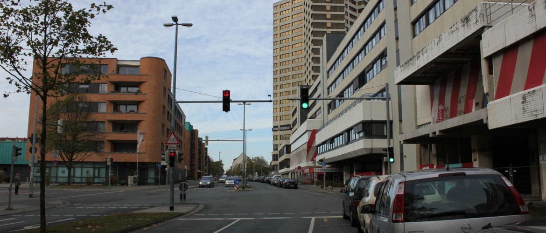 Blumenauer Straße und Ihmezentrum, Hannover, November 2012