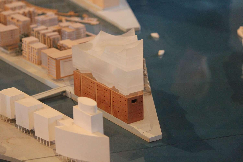 Modell der Elbphilharmonie, Kesselhaus in der Speicherstadt, Hamburg 2013