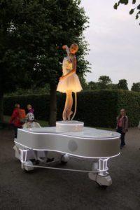 Mauro Grassi, Francesca Pellegrini; Italento, Carillon; Kleines Fest, Hannover, 2015
