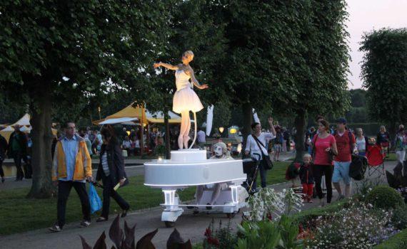 Mauro Grassi, Francesca Pellegrini; Italento, Carillon; Kleines Fest im Großen Garten, Hannover, 2015