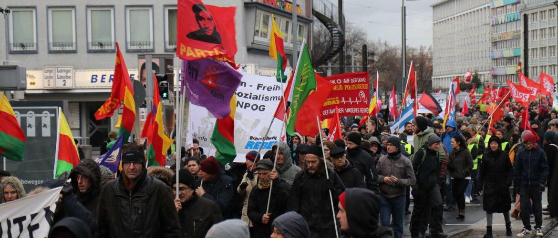 Demonstration gegen das geplante Polizeigesetz, Hannover, Steintor, Dezember 2018