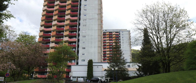 Panoramic-Hotelanlage, Bad Lauterberg, Mai 2019