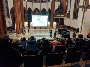 Präsentation des Siegerentwurfs zur Neugestaltung des Steintorplatzes in der Christuskirche