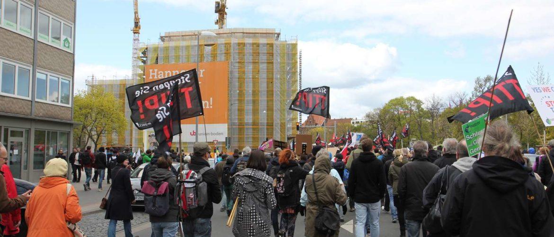 Anti-TTIP-Demo an der Goseriede, April 2016