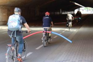 Fernroder Straße: Völlig irrsinnige Fahrradstreiflein